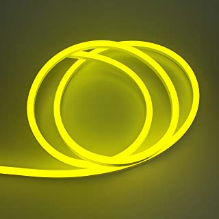 Vasten LED Neon Rope Light Flexible Hoses IP67 Decoration Light (Yellow)