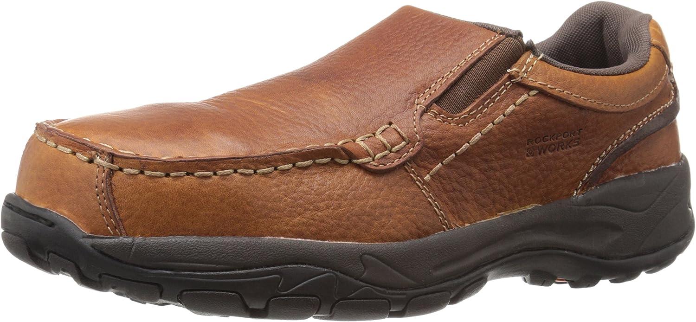Rockport Work Men's Extreme Light Rk6748 Work Shoe