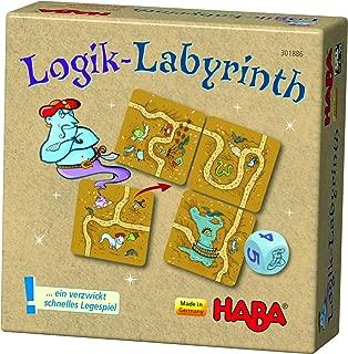 HABA 301886–Lógica de Laberinto, Juego de Mesa.