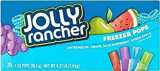 Jolly Rancher Freezer Pops, 1 oz, 70 count