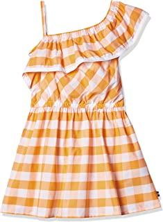فستان جينز بكتف واحد للفتيات من نوتيكا