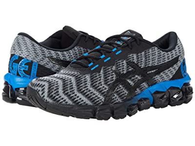 ASICS Kids GEL-Quantum 180 5 (Big Kid) (Piedmont Grey/Black) Boys Shoes
