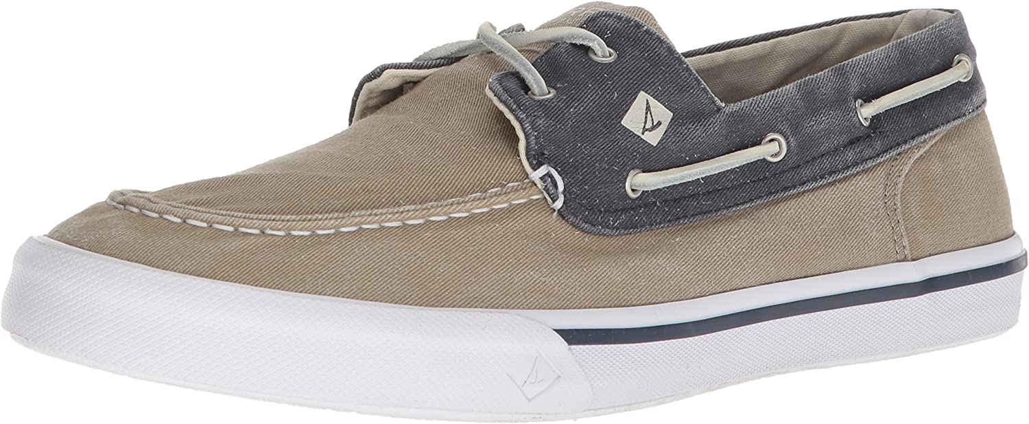 Sperry Herren Stiefelschuhe STS17782 Boat Washed Taupe Navy