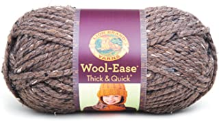 Lion 640-124J Wool-Ease Thick & Quick Yarn , 97 Meters, Barley