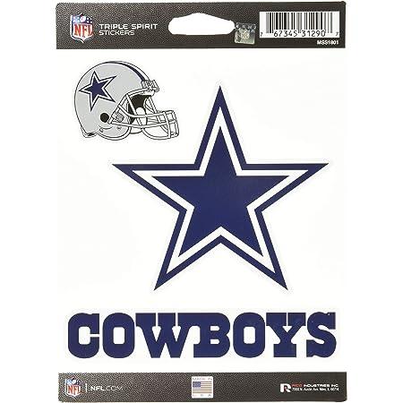 Set of 4 Pieces Houston City Texan Football Logo Die-Cut Decal Sticker 5 Longer Side