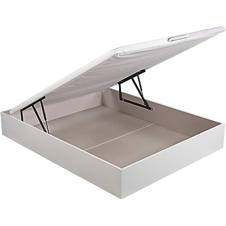 PIKOLIN, canapé abatible de almacenaje Color Blanco 150x190 ...
