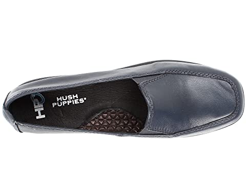 Leathernavy Hush Puppies Marrón Negro Cielo Cuero Leatherdark wwEqCS