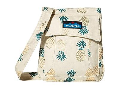 KAVU Mini Keeper (Pineapple Express) Cross Body Handbags