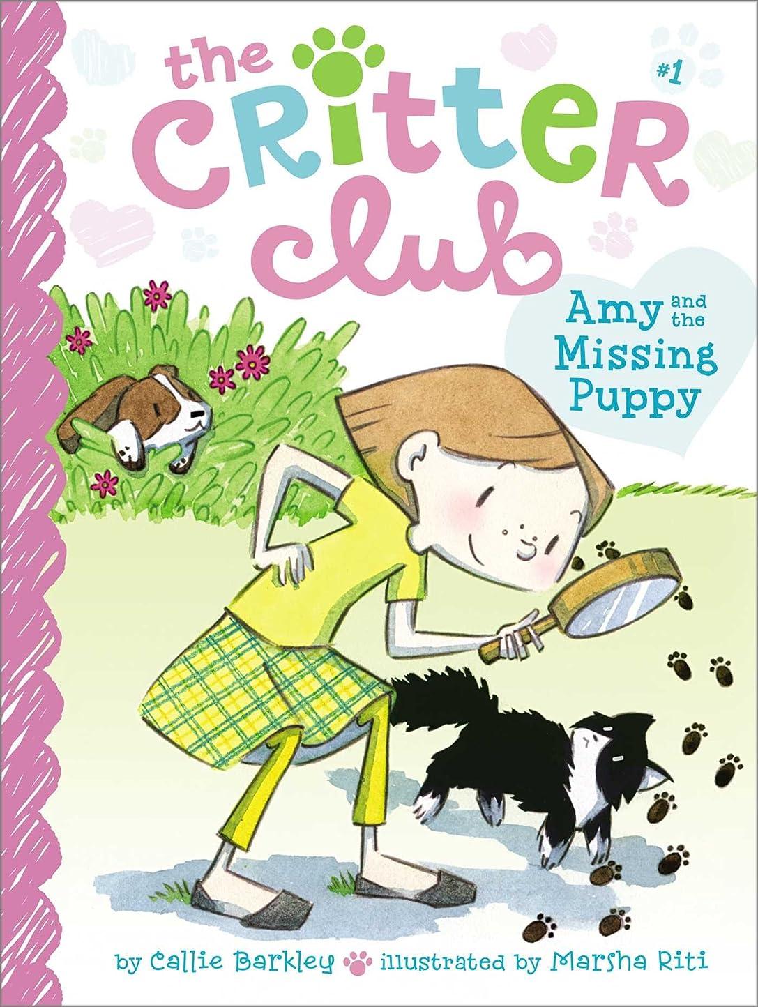 あそこクリームポーチAmy and the Missing Puppy (The Critter Club Book 1) (English Edition)