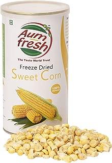 Aum Fresh Organic Freeze Dried Sweet Corn 50 g / 1.7 Ounce - USDA Certified