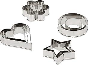 Prestige Biscuit Cutters, Set of 12-Piece PR5685, Silver, Stainless Steel