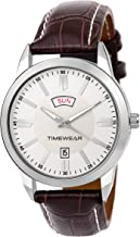 TIMEWEAR Day Date Functioning Watch for Men