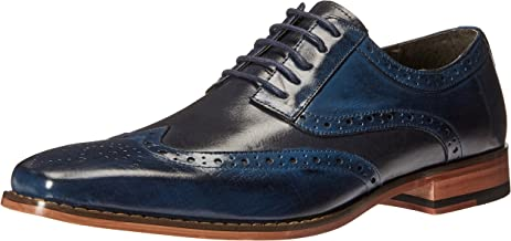 blue brogue shoes
