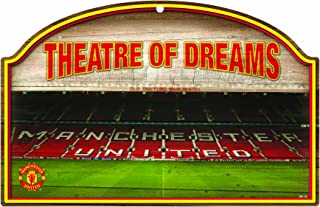 WinCraft Int'l Soccer Manchester United 11-By-17-Inch Traditional Look Wood Sign