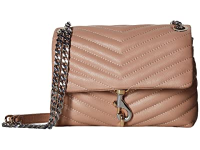Rebecca Minkoff Edie Crossbody (Doe 1) Cross Body Handbags