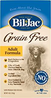 Bil-Jac Grain Free Adult Dog Food, 4 lbs.