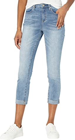 Soho High-Rise Skinny Mulberry in Light Blue