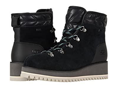 UGG Birch Lace-Up Boot (Black) Women