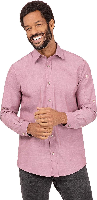 Chef Works Men's Tampa Mall Columbus Mall Chambray Shirt
