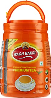 WAGH BAKRI Premium Tea Pet Jar, 495 gm