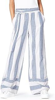 Marca Amazon - find. Pantalones de Rayas para Mujer