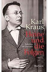 Heine und die Folgen: Schriften zur Literatur (Bibliothek Janowitz 21) (German Edition) Kindle Edition
