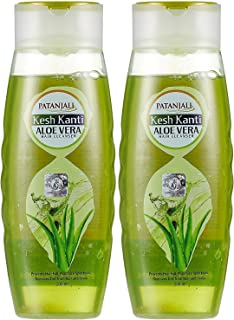 2 x Patanjali Kesh Kanti Aloe Vera Hair Cleanser 200ml (6.76 oz )