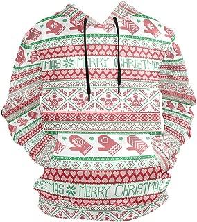 Christmas Knit Blanket Lightweight Slim Hooded Pullover Tops Sweatshirt