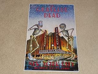 Cleveland Vinyl Large Grateful Dead NYC 1980 Radio City Halloween Concert Poster 10/22-31/80 19