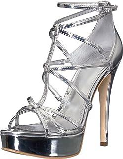 d8b4560e2aa0 Amazon.com  GUESS - Silver   Shoes   Women  Clothing