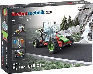 fischertechnik Profi H2 Fuel Cell Car Construction Kit,Multicolor