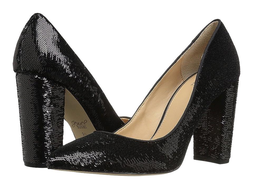 Jewel Badgley Mischka Luxury (Black Sequin) High Heels