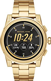 Michael Kors Grayson Gold-Tone Stainless Steel Smartwatch