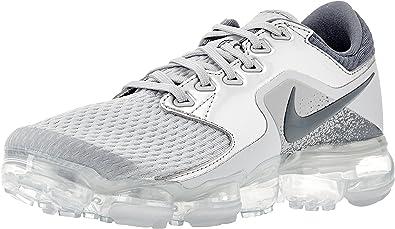 Amazon.com | Nike Air Vapormax Gs Girls Shoes Size 4, Color: Wolf ...