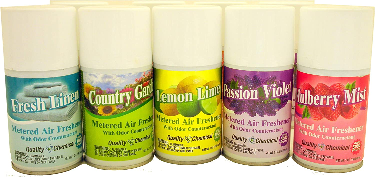 Super intense SALE Metered Very popular Aerosol Fragrance Refill Can - Larger oz. 6.75 can. Incl