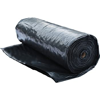 Farm Plastic Supply 4 Mil Black Sheeting In Various Sizes 3 X 100 Amazon Com