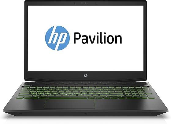 HP Pavilion Gaming 15-cx0201ng  15 6 Zoll  Full HD IPS  Gaming Laptop  Intel Core i7-8750H  TB HDD 128 GB SSD  16 GB RAM  Nvidia GeForce GTX 1050 4GB  Windows 10 Home 64  schwarz weiss