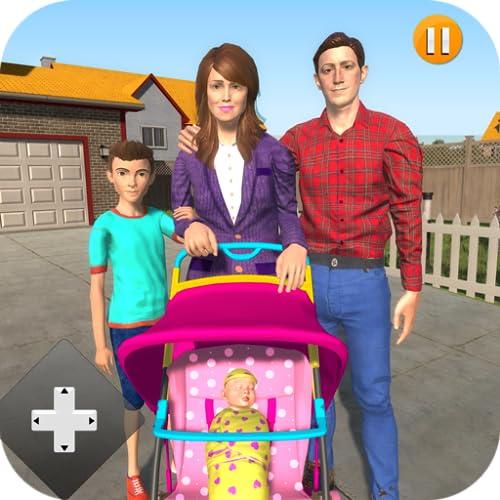 Virtuelle Mutter-Zwillinge-Baby-Spiele