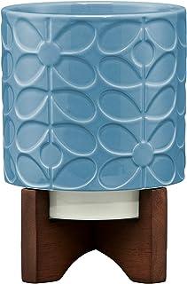 Orla Kiely ceramiczna doniczka na rośliny, błękitna, jeden rozmiar