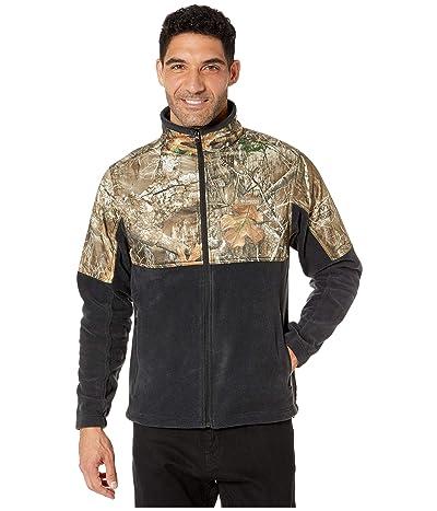 Columbia PHGtm Fleece Overlay Jacket (Black/Real Tree Edge) Men