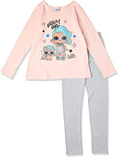 Conjunto de calças Loungewear, Kely Kety, Meninas