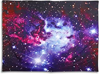 STATERA Galaxy Stars Tapestry Wall Hanging| Cosmic Trippy Tapestry| Psychedelic Outer Space Star Tapestry| Universe Cool Room Decor| Cosmos Large Wall Blanket 59.5 X 78.7 Inches