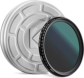 KODAK 49mm Fader Variable ND Filter | Variable Range ND2-2000 Neutral Density Filter, Prevent Overexposure w/Shallow Depth of Field, Capture Motion Blur, Slim, Nano 18-Layer Multi-Coated Glass