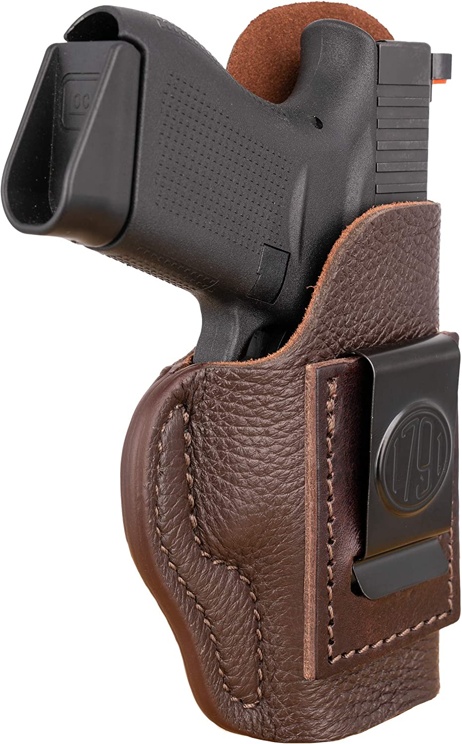 Large special price 1791 GUNLEATHER Premium Leather quality assurance Glock 43 H Right Holster CCW IWB