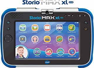 VTech Storio MAX XL 2.0 - Tablet educativo multifunción, color azul (80-194622)