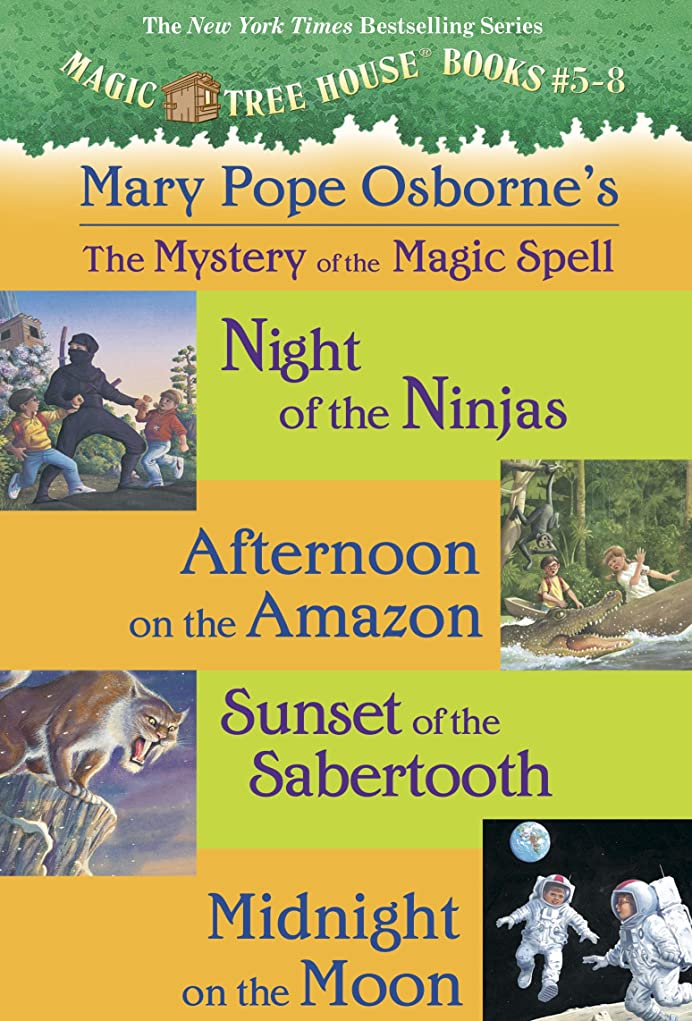 エコーマエストロ脳Mystery of the Magic Spells (A Stepping Stone Book Box set 2) (English Edition)