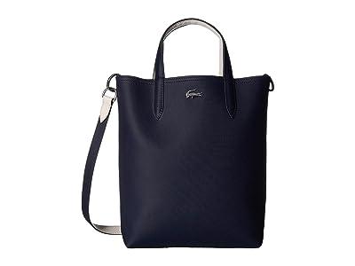 Lacoste Anna Vertical Shopping Bag (Clay/Pink Madras/Archipelago/Antirrhinum/Passion Flower/Pollen) Handbags