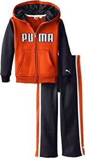 PUMA Little Boys' PUMA Logo Poly Fleece Set