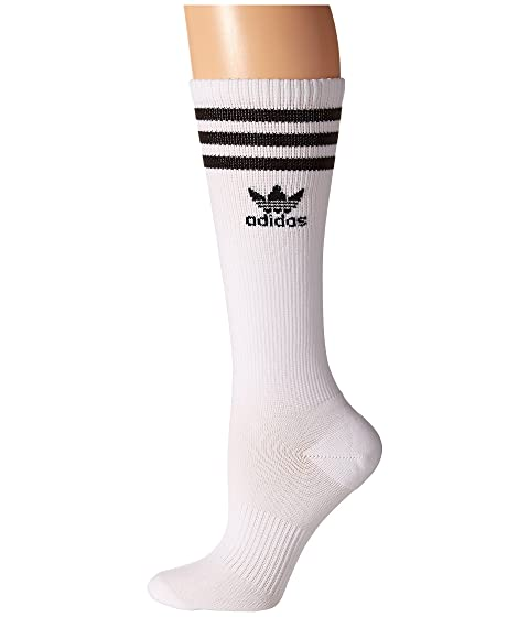 de 1 de Originals calcetines con rodillo la blanco a negro Pack de Originals rodilla adidas par q57xWvt