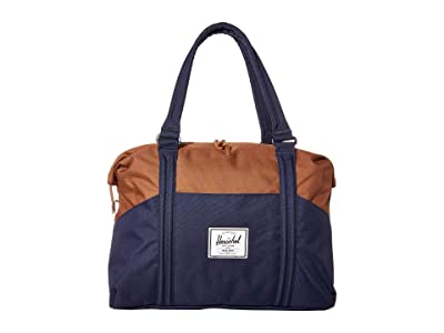 Herschel Supply Co. Strand (Peacoat/Saddle Brown) Duffel Bags